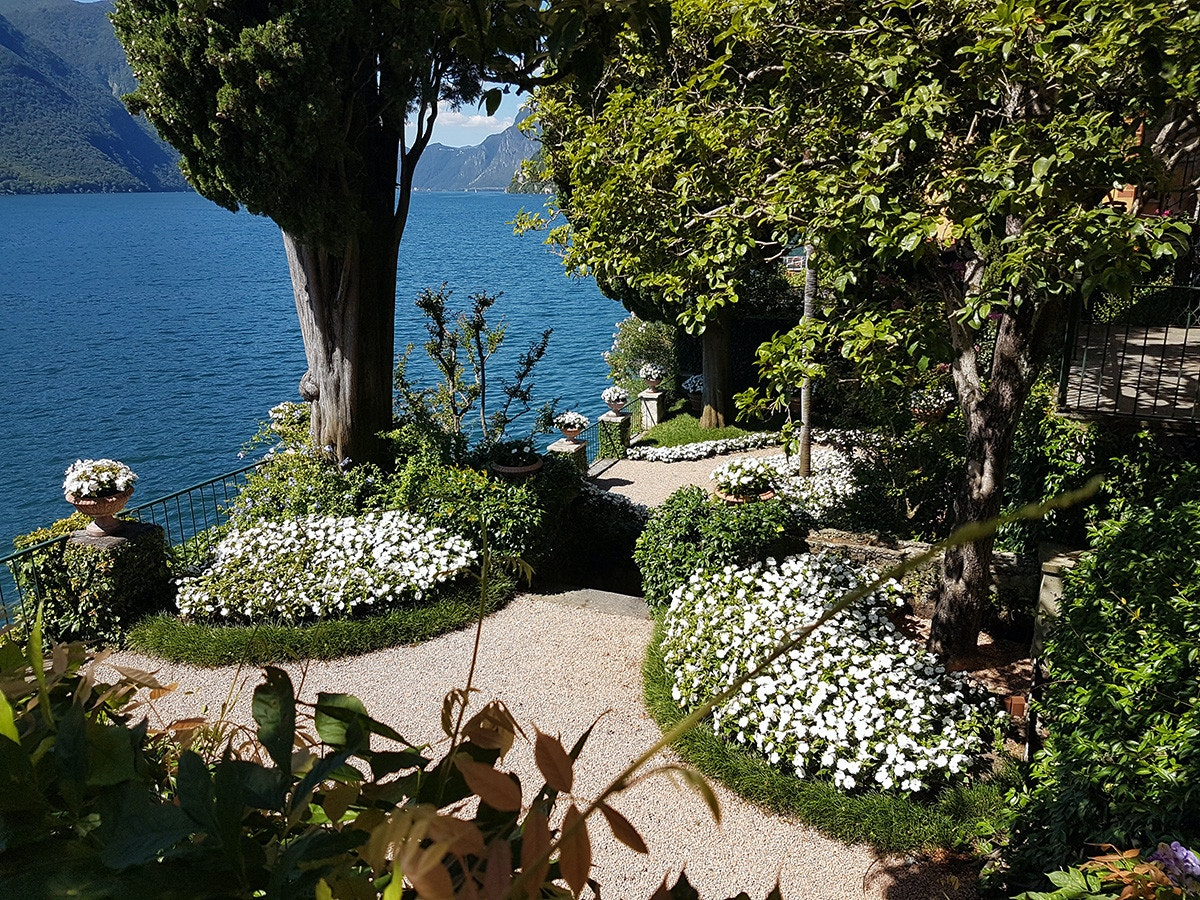 Villa Fogazzaro Roi, Oria Valsolda (CO). Foto di Valerio di Bussolo © FAI.