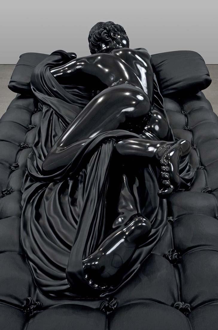 """Sleeping Hermaphrodite"" (2008 - 2010) di Barry X Ball"