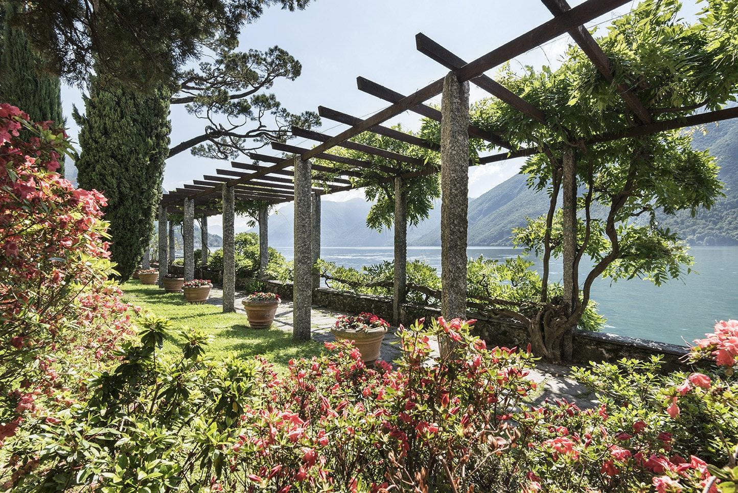 Villa Fogazzaro Roi, Oria Valsolda (CO). Foto di Susy Mezzanotte © FAI.