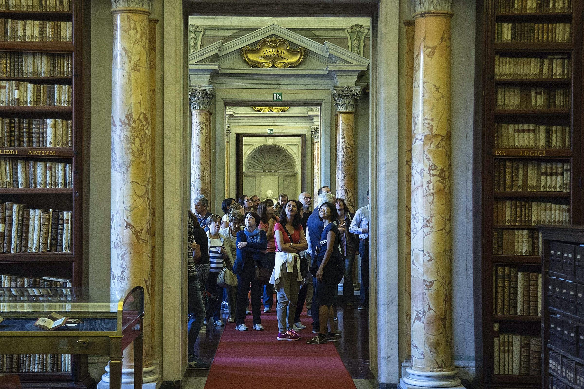 Visitatori alle Giornate FAI 2017 di Roma, Ph. Stefano Dal Pozzolo © Archivio FAI