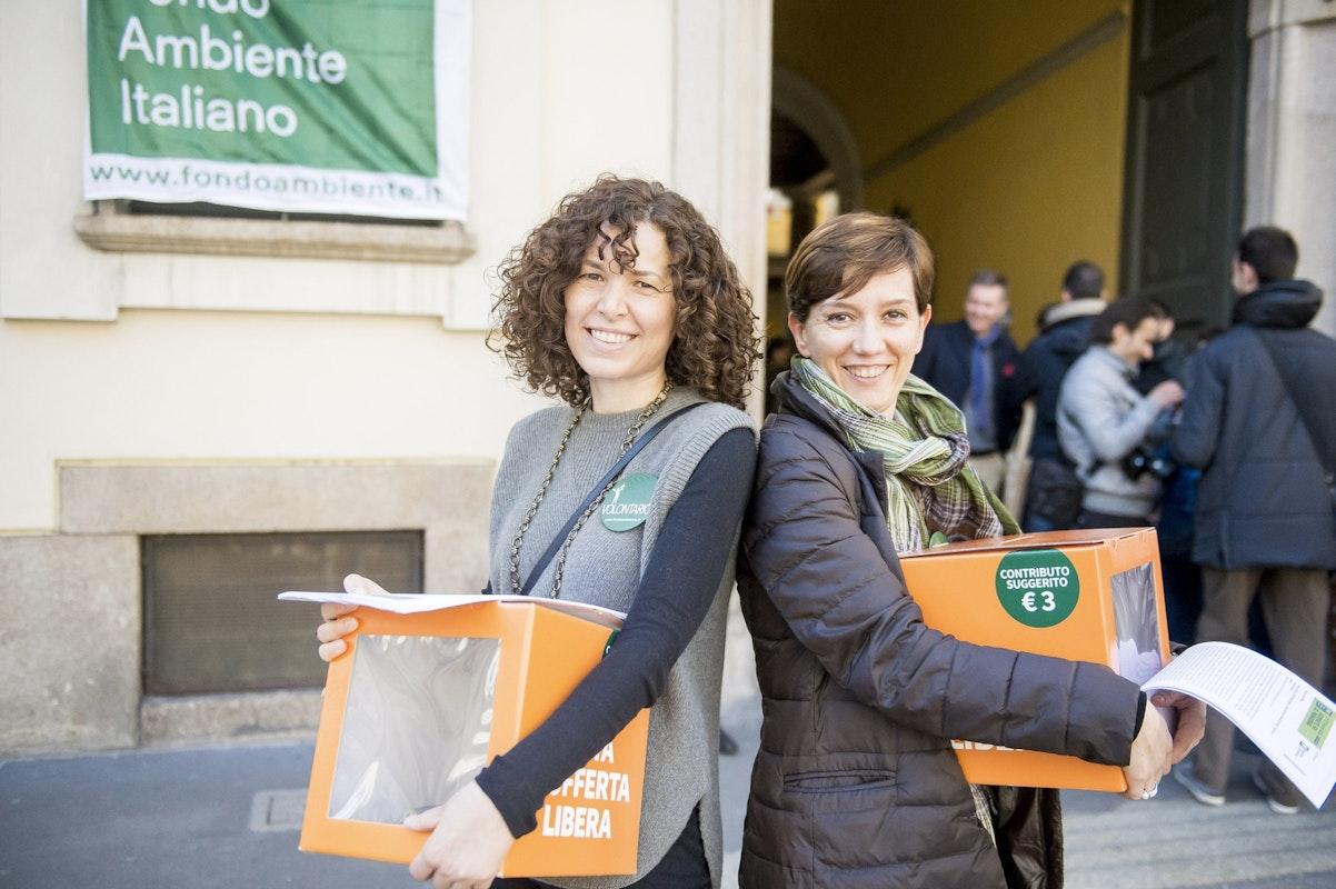 Volontarie a Giornate FAI di Primavera | Ph. Gabriele Basilico | © Archivio FAI