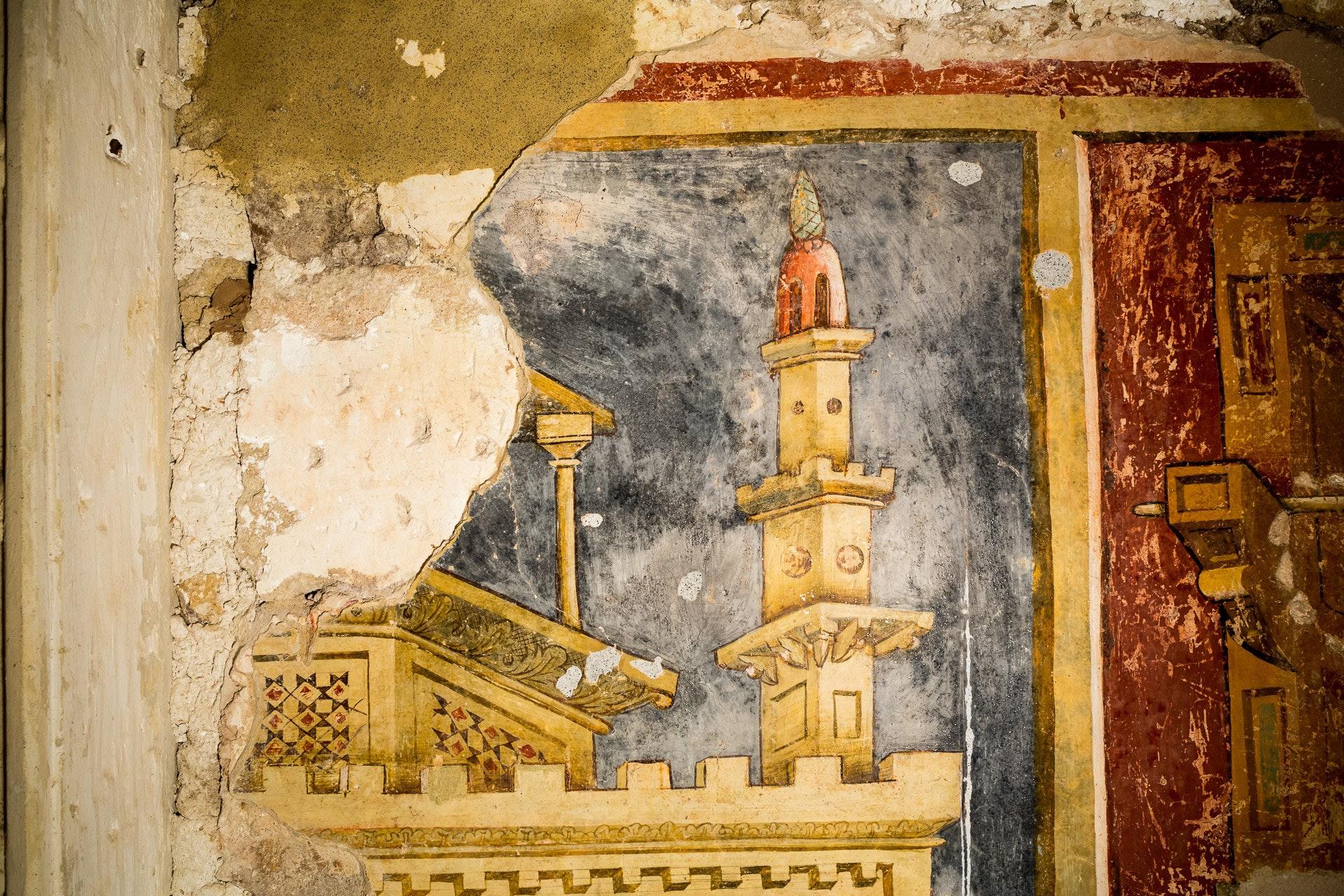 Restauri in corso nella Abbazia di S. Maria di Cerrate (LE)