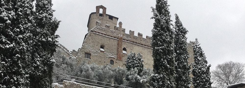 Castello di Avio, in provincia di Trento. Foto di Roberta Turrini © FAI