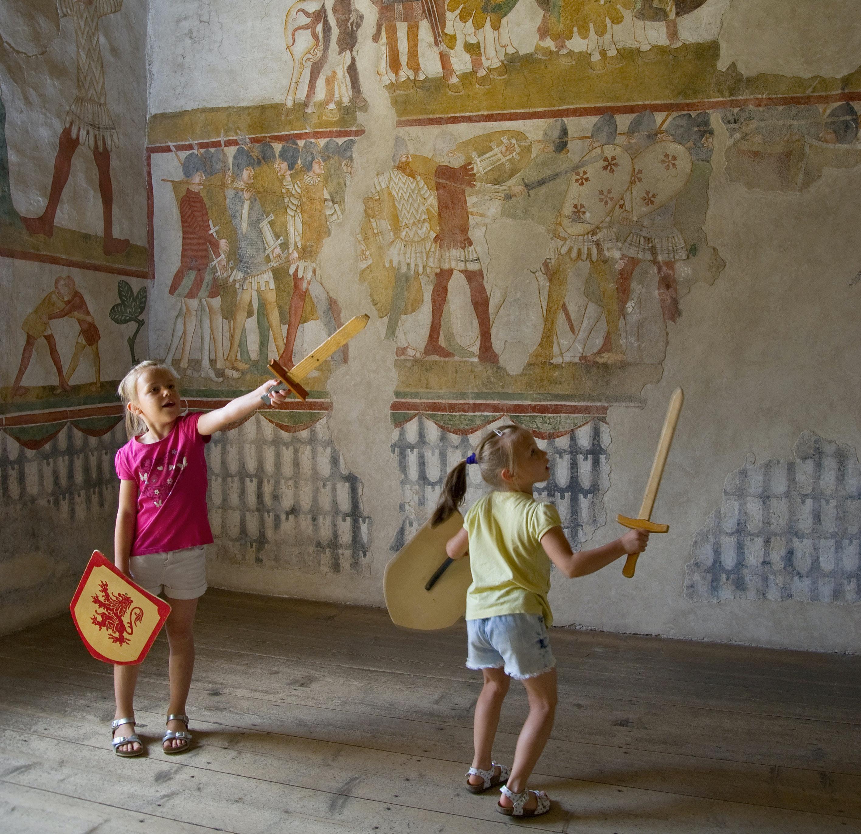 Bambini al Castello di Avio (TN) - Beni per le famiglie