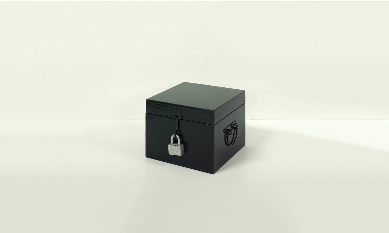 Douglas Davis, Seven Thoughts: The Black Box, 1976
