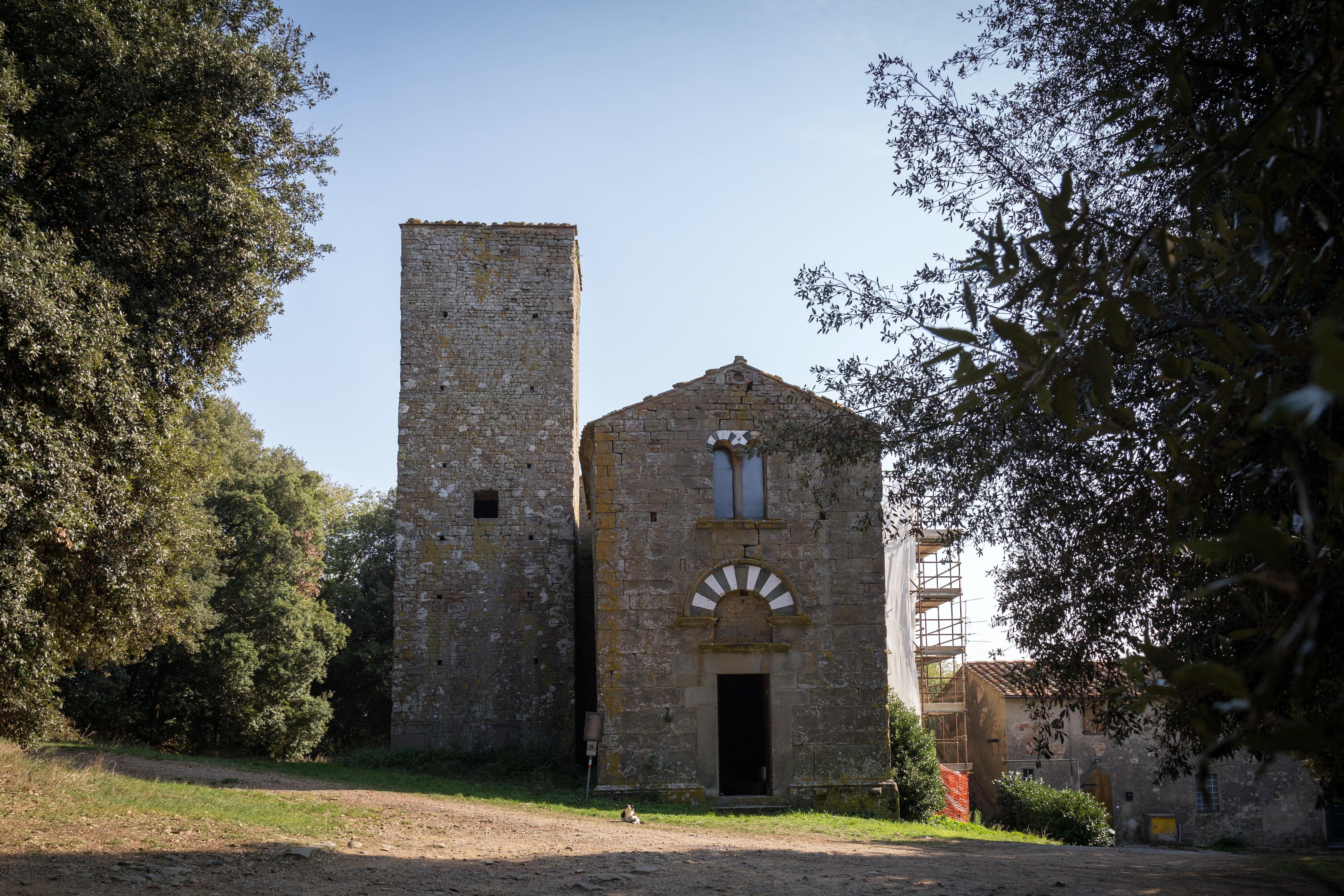I Luoghi del Cuore, annuncio interventi 2017, Abbazia di San Giusto al Pinone, Carmignano (PO)