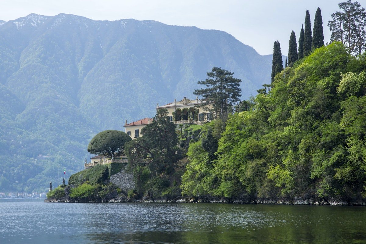 Villa Fogazzaro e Villa del Balbianello: il recupero dell'acqua di lago