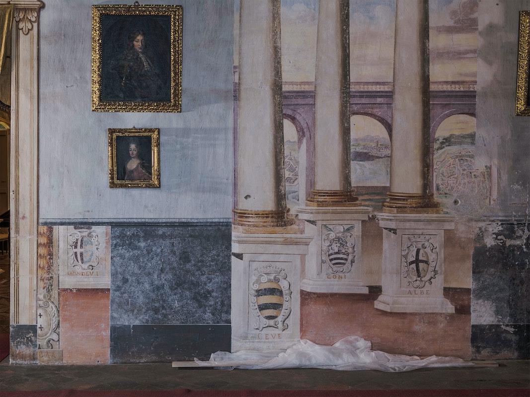 Il Castello di Masino celebra i 30 anni di apertura con un nuovo grande progetto di restauro degli affreschi